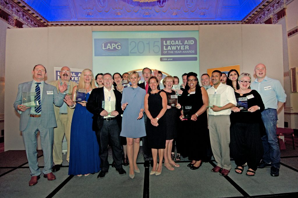 01.07.2015. LAPG 'Legal Aid Lawyer of the Year Awards 2015.