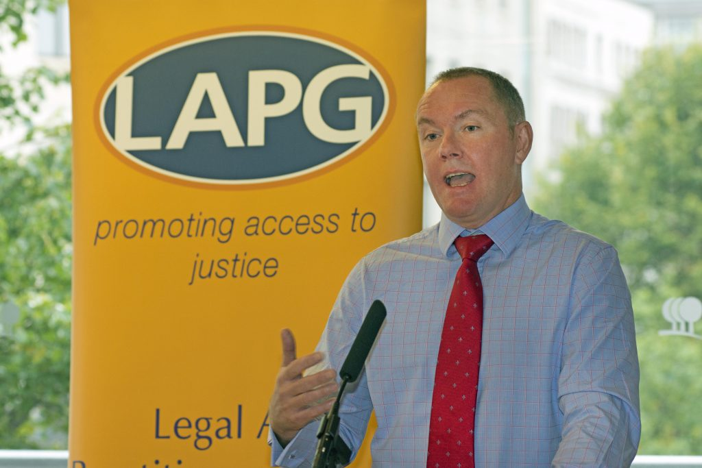 Shaun McNally at LAPG annual conference 2016 © Robert Aberman